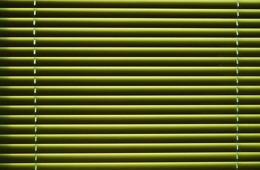 žaluzie zelená