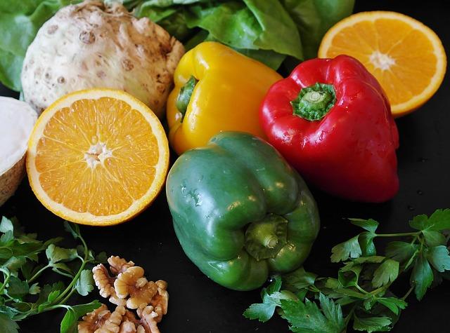 papriky s citrusy
