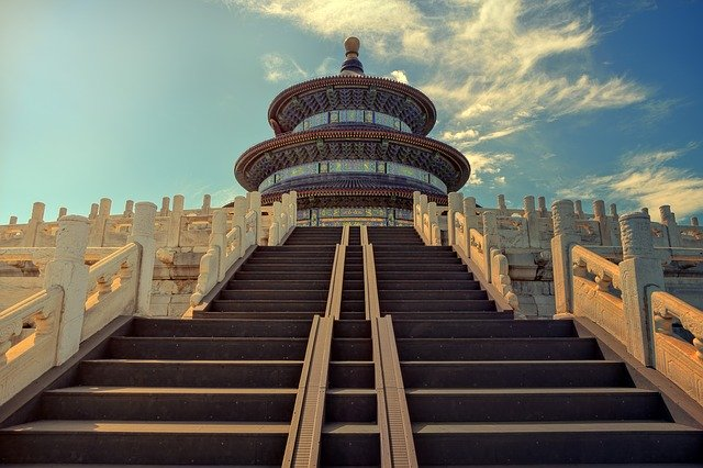 Schody v číně