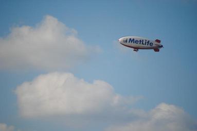 reklama na vzducholodi
